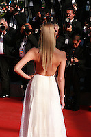 Natasha Poly at the Palme d'Or  Closing Awards Ceremony red carpet at the 67th Cannes Film Festival France. Saturday 24th May 2014 in Cannes Film Festival, France.