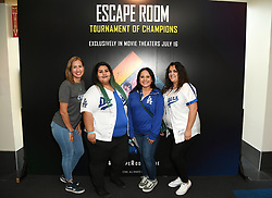 LOS ANGELES, CALIFORNIA - July 14:  Guest attend The Escape Room early screening at Regal LA Live & 4DX  on July 14, 2021 in Los Angeles, California, United States (Photo by Jc Olivera/Sony Pictures)
