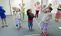 (Karen Bobotas/for the Laconia Daily Sun)Winnipesaukee Playhouse April Vacation Theater Camp April 27, 2011.