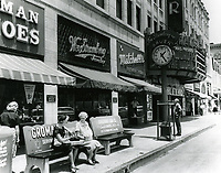 1956 Wm. Stromberg Jewelers on Hollywood Blvd. near Wilcox Ave.