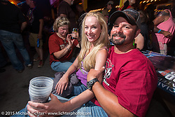 The Knuckle Saloon during the 75th Annual Sturgis Black Hills Motorcycle Rally.  SD, USA.  August 3, 2015.  Photography ©2015 Michael Lichter.