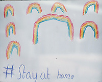 Stay at Home  Rainbow Picture Eastleigh