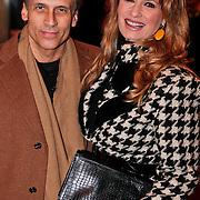 NLD/Den Haag/20110117 - Premiere film Sonny Boy, robert Schoemacher en partner Claudia van Zweden