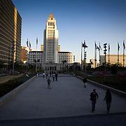 Los Angeles City Hall.