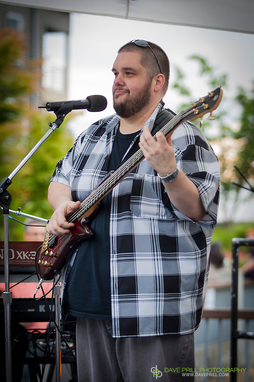 Bump Kitchen performing at the Everett Washington, Music in the Park Concert Series