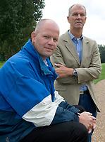 Rottebergen/ GC Hooge Bergsche. Direkteur Joris Slooten en voorz.