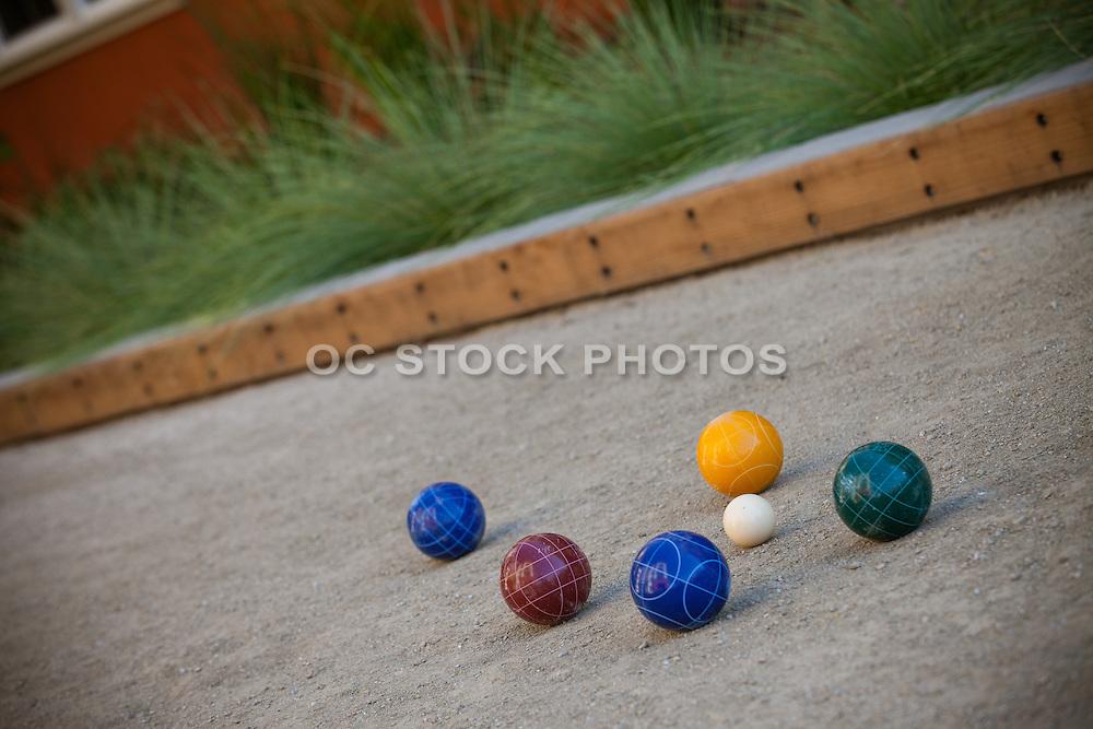 Bocce Ball Crushed Granite Court