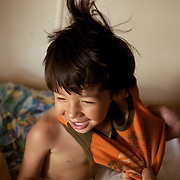 I wish I was this happy to wake up in the morning.