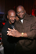 """Steven Hill and Mike Kyser at """" The P. Diddy presents Bad Boy Entertainment Night """" at Spotlight NYC featuring performances by Cherri Dennis and Vanity Kane on January 29, 2008"""