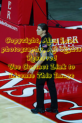 NORMAL, IL - February 27: Amy Bonner during a college basketball game between the ISU Redbirds and the Northern Iowa Panthers on February 27 2021 at Redbird Arena in Normal, IL. (Photo by Alan Look)
