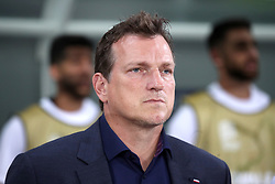 Israel manager Andreas Herzog during the UEFA Nations League Group C1 match at the Sammy Ofer Stadium, Haifa.