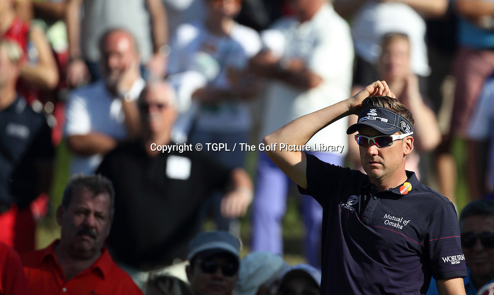 Ian POULTER (ENG) during fourth round Turkish Airlines Open by Ministry of Culture and Tourism 2013,Montgomerie Course at Maxx Royal,Belek,Antalya,Turkey.