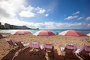 Royal Hawaiian Hotel, Waikiki Beach, Honolulu, Oahu, Hawaii
