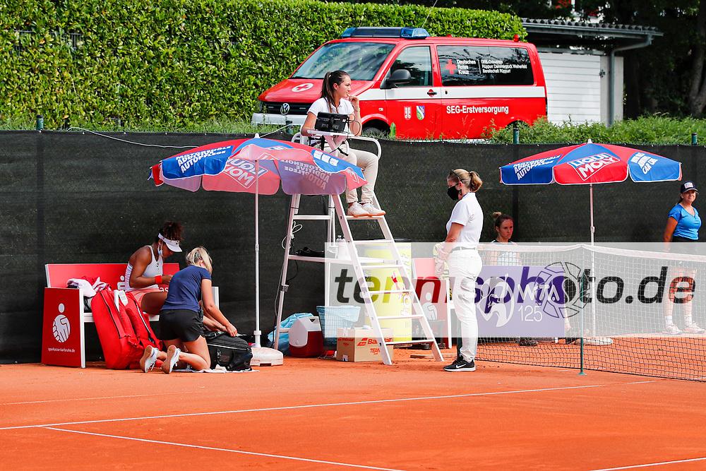 Lucia Bronzetti (ITA) - LIQUI MOLY OPEN powered by Stadtwerke Karlsruhe - WTA 125, 9.9.2021, Karlsruhe (Tennisclub Rüppurr 1929 e.V.), Deutschland, Photo: Mathias Schulz