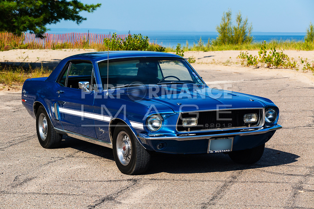 1968 Ford Mustang California Special on pavement