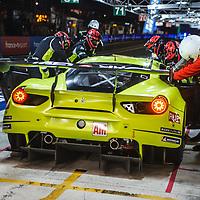 #57, Car Guy Racing, Ferrari 488 GTE, LMGTE Am, driven by: Takeshi Kimura, Kei Francesco Cozzolino, Come Ledogar on 15/06/2019 at the Le Mans 24H 2019