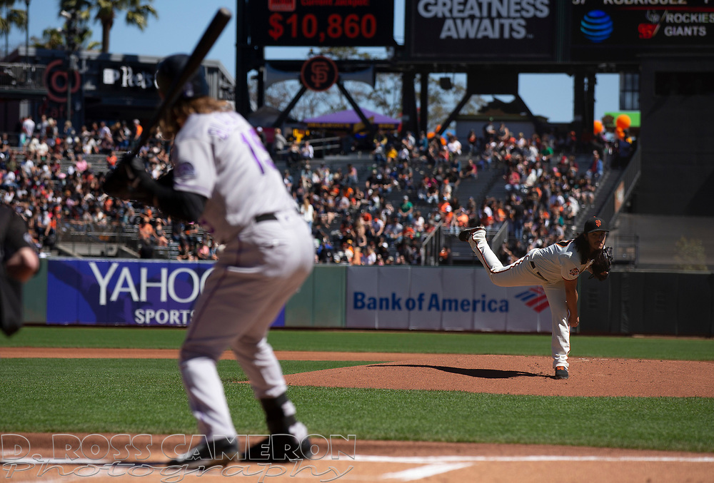 Sep 16, 2018; San Francisco, CA, USA; during the inning of a Major League Baseball game at AT&T Park. Mandatory Credit: D. Ross Cameron-USA TODAY Sports