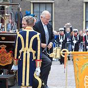 NLD/Den Haag/20110920 - Prinsjesdag 2011, aankomst Mr. Pieter van Vollenhoven en Pr. Margriet