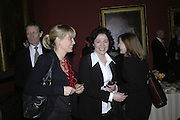 Hogarth private view and dinner. Tate Britain. London. 5 February 2007.  -DO NOT ARCHIVE-© Copyright Photograph by Dafydd Jones. 248 Clapham Rd. London SW9 0PZ. Tel 0207 820 0771. www.dafjones.com.