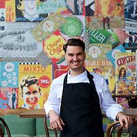 Chef Josep from Bohemia, South Wharf Promenade.