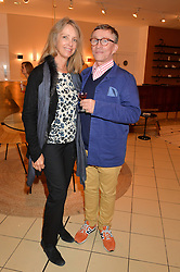 JASPER CONRAN and SABRINA GUINNESS at a party to celebrate the launch of Conran Italia at The Conran Shop, Michelin House, 81 Fulham Road, London on 19th March 2015.