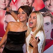 NLD/Scheveningen/20130909 -  Filmpremiere Smoorverliefd, Jamie Faber en Yvonne Coldeweijer (Keet)