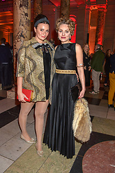 Gizzi Erskine and Lady Martha Sitwell at the Mary Quant VIP Preview at The Victoria & Albert Museum, London, England. 03 April 2019. <br /> <br /> ***For fees please contact us prior to publication***