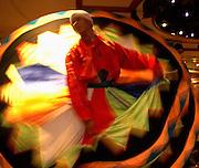 Whirling Dervish dancer..Luxor, Egypt