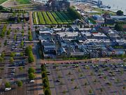 Nederland, Flevoland, Lelystad, 26-08-2019;Shopping center en Fashion Outlet Bataviastad. Shopping Center and Fashion Outlet Bataviastad.<br /> luchtfoto (toeslag op standard tarieven);<br /> aerial photo (additional fee required);<br /> copyright foto/photo Siebe Swart