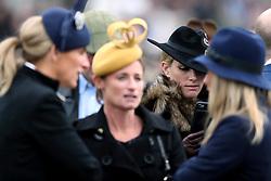 Zara Tindall during St Patrick's Thursday of the 2017 Cheltenham Festival at Cheltenham Racecourse.