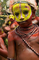 Huli Wigman from Tari area, Southern Highlands Province..Goroka, Eastern Highlands Province, Papua New Guinea.