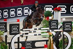 Van Paesschen Constant, BEL, Carlow vd Helle<br /> MEVISTO Amadeus Horse Indoor Salzburg<br /> © Hippo Foto - Stefan Lafrentz<br /> 11-12-2016