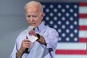 Former Vice President Joe Biden during a town hall meeting at the International Longshoreman's Association Hall July 7, 2019 in Charleston, South Carolina.