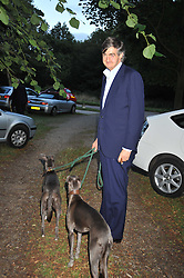 ROBIN BIRLEY at a Summer party hosted by Lady Annabel Goldsmith at her home Ormeley Lodge, Ham, Surrey on 14th July 2009.