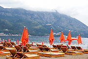 Becici Beach, Becici, Budva Riviera, Montenegro
