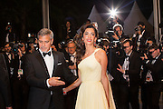 George Clooney, Amal Clooney - CANNES 2016 - THE MARKETS DOWN FILM ' MONEY MONSTER<br /> ©Exclusivepix Media