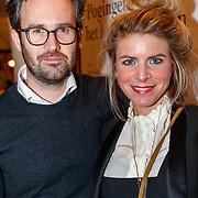 NLD/Utrecht/20171212 - Premiere Hendrik Groen, Rosa Reuten en partner Guy Clemens