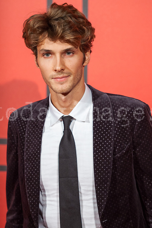 Nicolas Labelle during the photocall of Vanity Fair 5th Anniversary party In Madrid