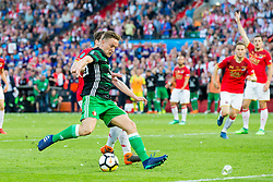 Thomas Ouwejan of AZ, Jens Toornstra of Feyenoord during the Dutch Toto KNVB Cup Final match between AZ Alkmaar and Feyenoord on April 22, 2018 at the Kuip stadium in Rotterdam, The Netherlands.