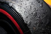 May 25-29, 2016: Monaco Grand Prix. Pirelli tire with degradation
