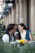Couple Having Coffee