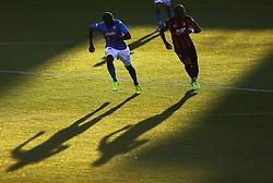 Napoli's Kalidou Kouibaly and Bournemouth's Benik Afobe during the pre-season friendly at the Vitality Stadium, Bournemouth.