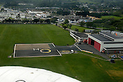 United Kingdom, 20 May 2009: View of the heliport at Penzance. Photo by Peter Horrell / http://peterhorrell.com