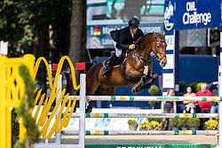 HAARMANN Marvin Carl (GER), Labonita OLD<br /> - Stechen -<br /> Preis der Provinzial Versicherung (CSN)<br /> Finale zum Junioren-Förderpreis 2020<br /> Springprüfung mit Stechen, national<br /> Höhe: 1,40m<br /> Paderborn - OWL Paderborn Challenge 2020<br /> 13. September2020<br /> © www.sportfotos-lafrentz.de/Stefan Lafrentz
