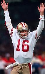 Joe Montana in Super Bowl XXIV, 1990