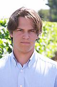 Alexandre Frezouls, owner winemaker. Domaine Enclos de la Croix, Languedoc, France
