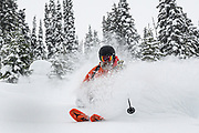 Canadian Mountain Holidays (CMH) Nomads private heliski tour 2020, Rob Kinsley