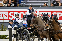 EXELL Boyd (AUS), Bajnok, Barny, Demi, Rocket<br /> Genf - CHI Rolex Grand Slam 2018<br /> FEI Driving World Cup<br /> 09. Dezember 2018<br /> © www.sportfotos-lafrentz.de/Stefan Lafrentz