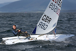 Day 4 NeilPryde Laser National Championships 2014 held at Largs Sailing Club, Scotland from the 10th-17th August.<br /> <br /> 201509, Jon EMMETT<br /> <br /> Image Credit Marc Turner