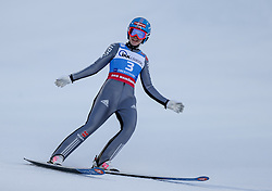 30.01.2016, Normal Hill Indiviual, Oberstdorf, GER, FIS Weltcup Ski Sprung Ladis, Bewerb, im Bild Agnes Reisch (GER) // Agnes Reisch of Germany during her Competition Jump of FIS Ski Jumping World Cup Ladis at the Normal Hill Indiviual, Oberstdorf, Germany on 2016/01/30. EXPA Pictures © 2016, PhotoCredit: EXPA/ Peter Rinderer